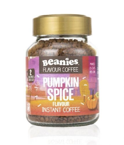 Beanies Pumpkin Spice Flavour Instant Coffee 50g